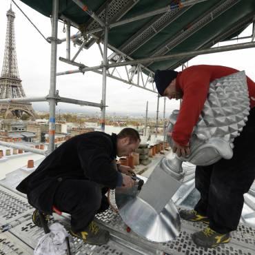 Les couvreurs parisiens bientôt à l'Unesco ?