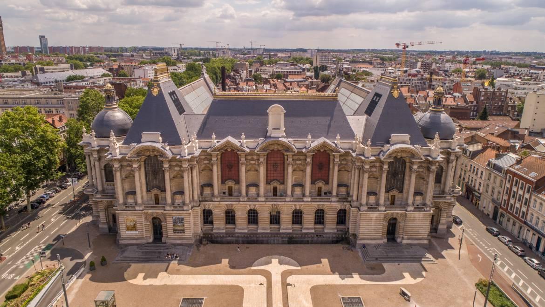 Grand angle : LE PALAIS DES BEAUX-ARTS DE LILLE