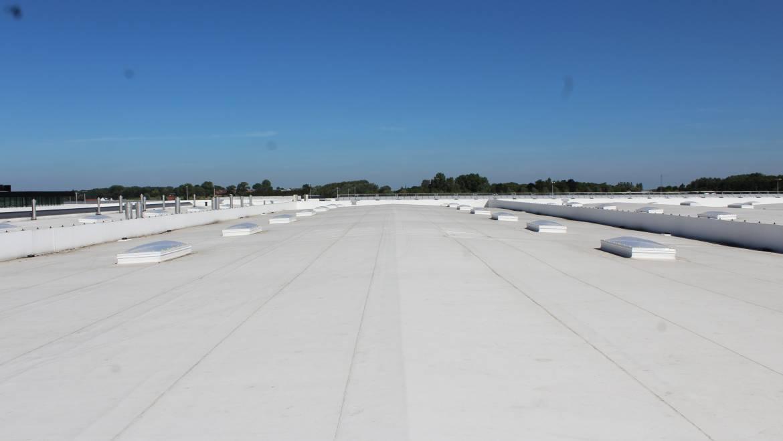 Plates toitures au Plat Pays