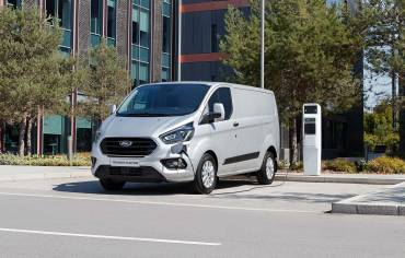 Le Transit Custom Plug-in hybrid de Ford