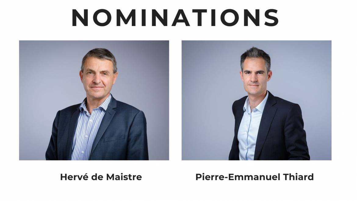 Nominations : Rapprochement Placo-Isover
