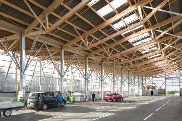 L'objèterie bretonne ondule de la toiture