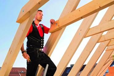 Le pantalon Tradition pour charpentier de Mewa