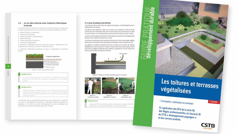 Guide pratique : « Les toitures et terrasses végétalisées »